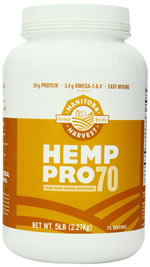 Manitoba Harvest Hemp Pro 70 Protein Supplement 5 lbs. $76.16 16 oz. $19.72