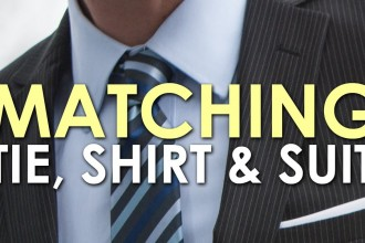 How To Match a Tie, Shirt andSuit